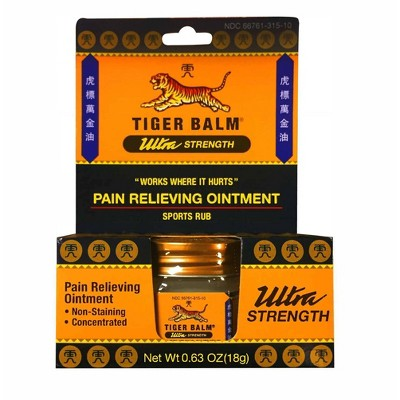 Tiger Balm Ultra Strength Ointment - 0.63oz