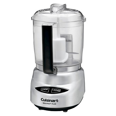 Cuisinart® Mini Prep Plus 4 Cup Food Processor - Stainless Steel DLC-4CHB