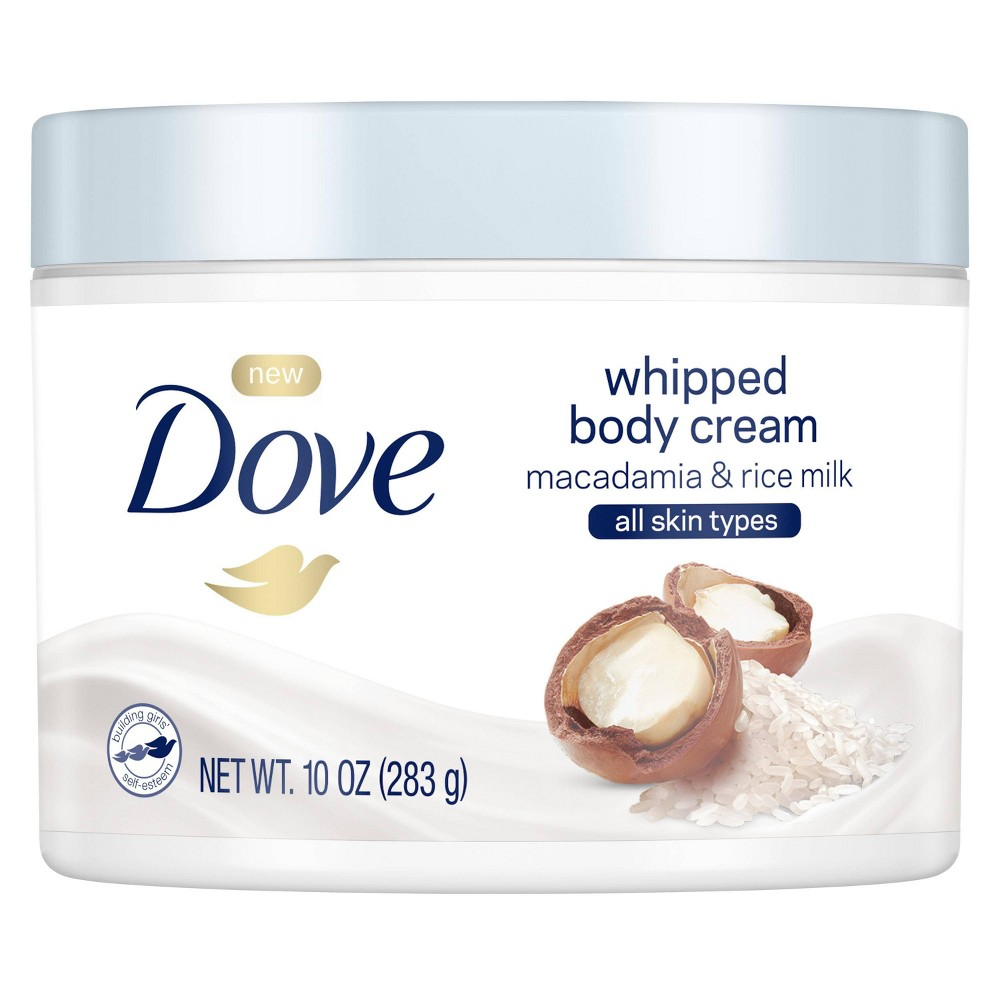 Dove Beauty Whip Macadamia And Rice Milk Hand And Body Lotions - 10 fl oz