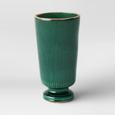 Glazed Ceramic Vase Green - Threshold™