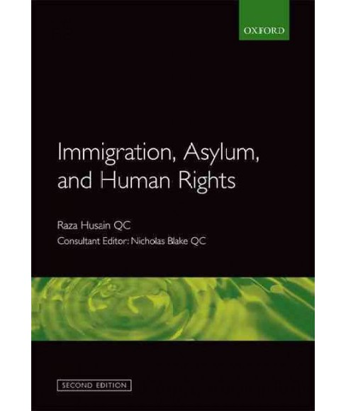 Immigration, Asylum and Human Rights -  2 by Nicholas  Blake (Paperback) - image 1 of 1