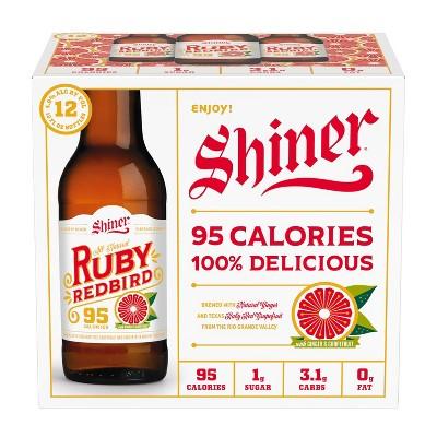 Shiner Ruby Redbird Grapefruit Beer - 12pk/12 fl oz Bottles