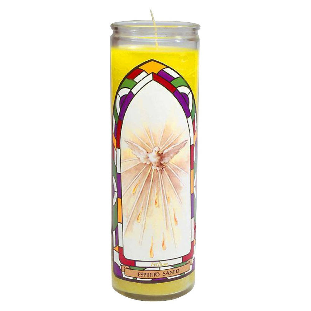 Image of Jar Candle Espiritu Santo Yellow - Continental Candle