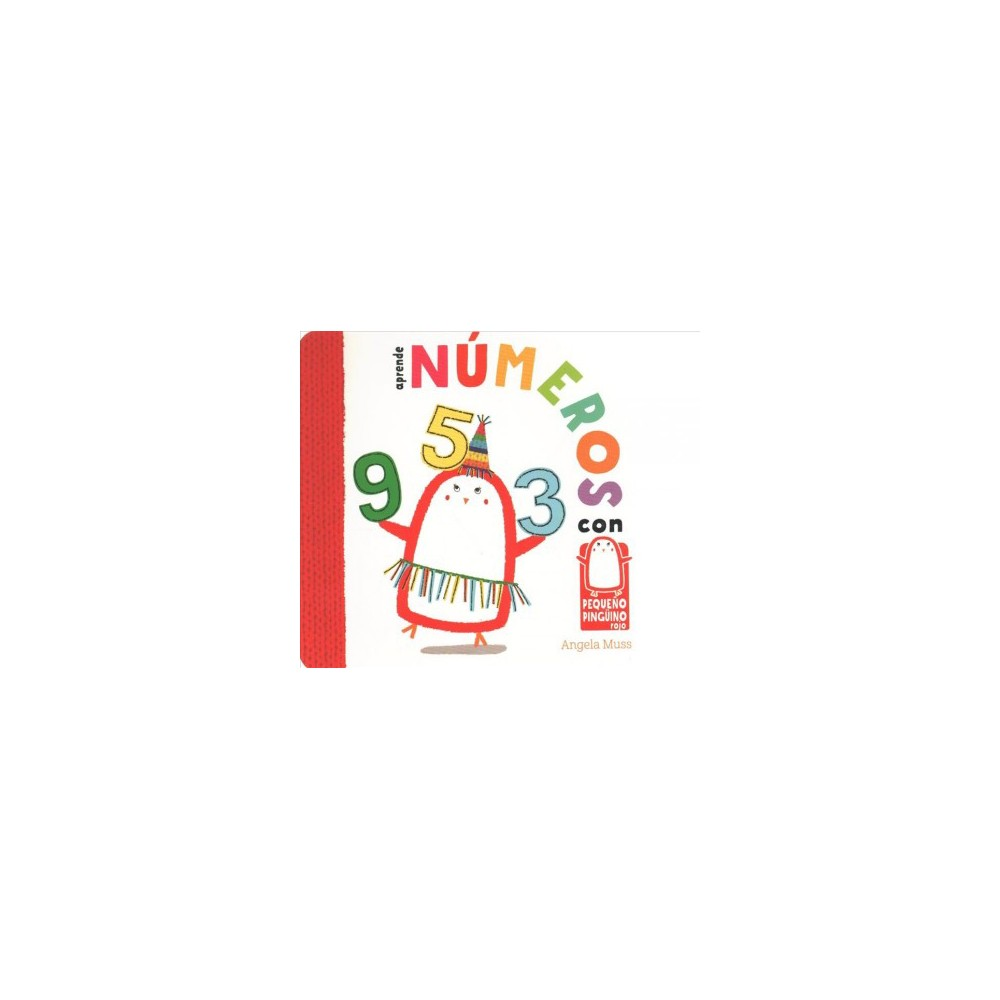 Aprende números con pequeño pingüino rojo / Learn Numbers with Little Red Penguin