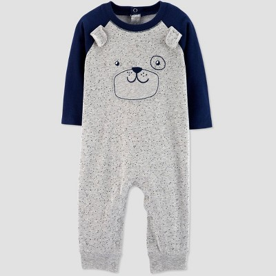 Baby Boys' Puppy Romper - Just One You® made by carter's Gray/Navy Newborn