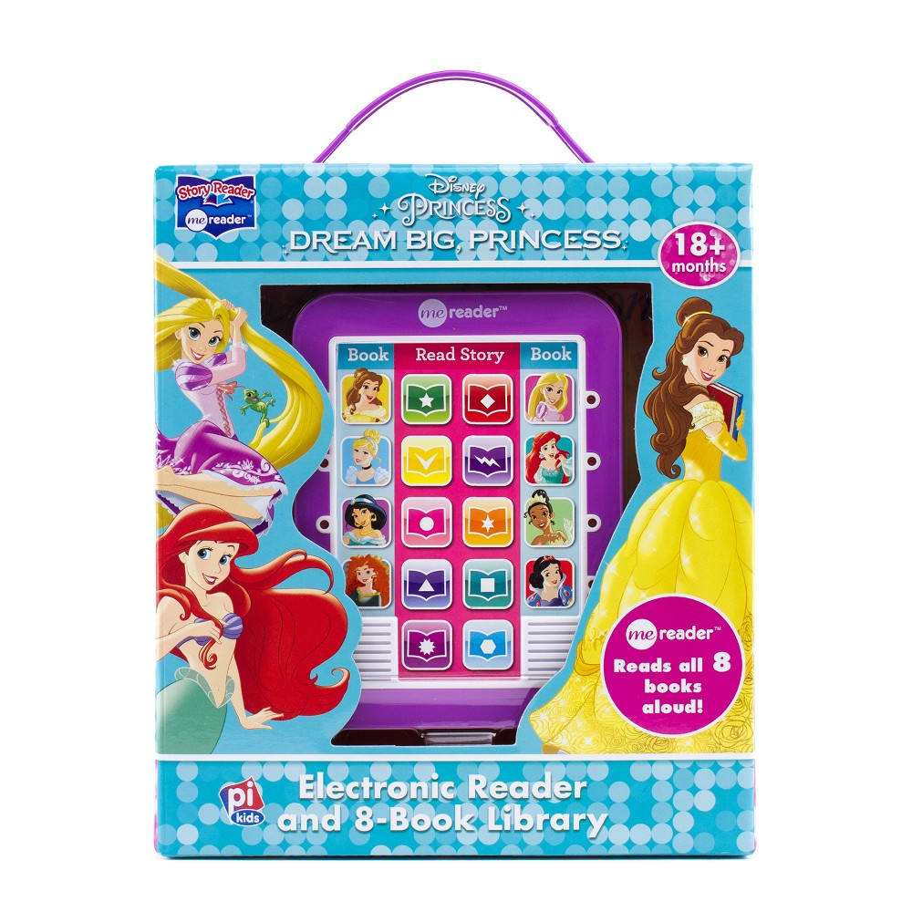 Disney Princess Electronic Me Reader 8-book Boxed Set
