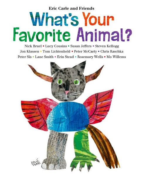What's Your Favorite Animal? (Hardcover) by Eric Carle - image 1 of 1