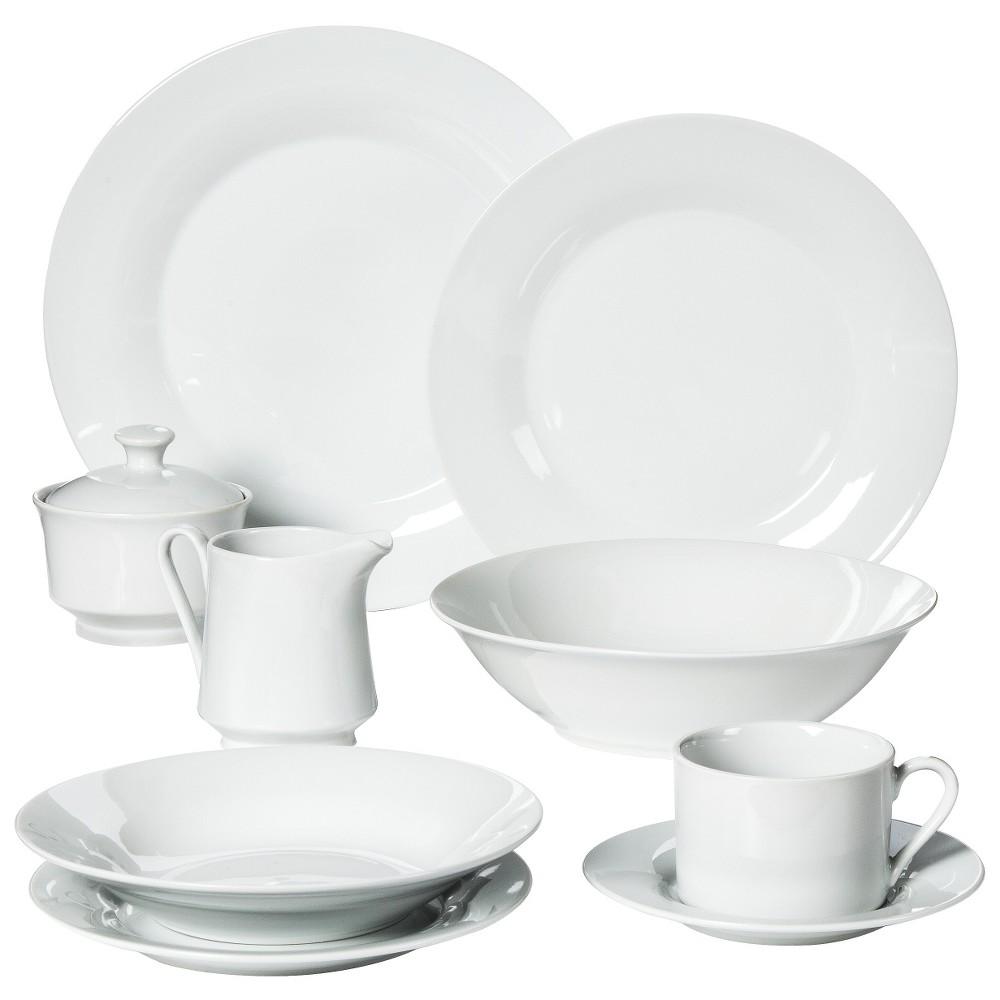Image of 10 Strawberry Street 45pc Dinnerware Set
