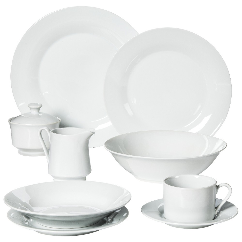 Image of 10 Strawberry Street 45pc Dinnerware Set