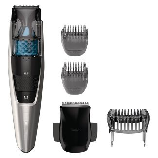 Philips Norelco Series 7200 Beard & Hair Mens Electric Trimmer with Vacuum - BT7215/49