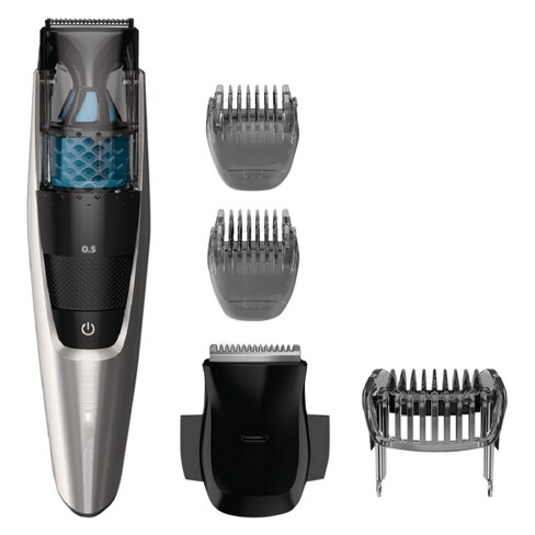 Philips Norelco Series 7200 Beard & Hair Men's Electric Trimmer with Vacuum - BT7215/49 - image 1 of 4