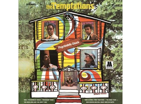 Temptations - Psychedelic Shack (CD) - image 1 of 1