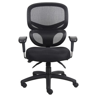 Multi-Function Mesh Task Chair Black - Boss Office Products : Target