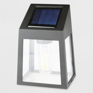 2pk LED Outdoor Deck Lights Filament Black - Threshold™