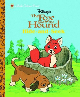 Fox And the Hound : Hide And Seek (Hardcover)