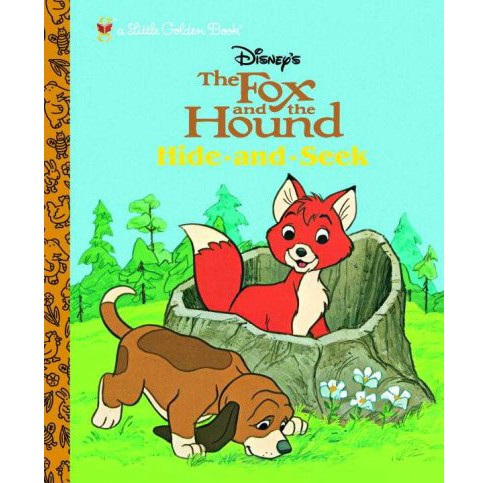 Fox And the Hound : Hide And Seek (Hardcover) - image 1 of 1