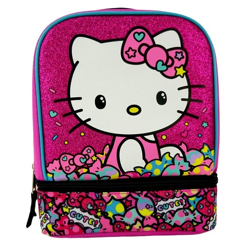 Hello Kitty Drop Bottom Lunch Bag - Pink - image 1 of 3
