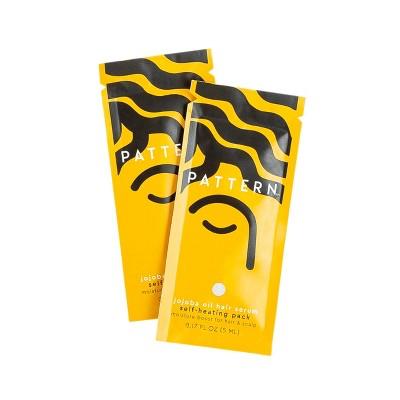 PATTERN Jojoba Oil Hair Serum Self-Heating Packs - 2pc - 0.17 fl oz - Ulta Beauty