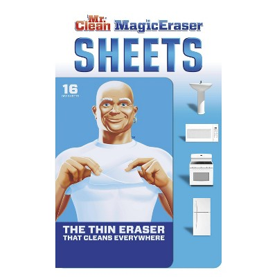 Mr. Clean Sheets Erasers