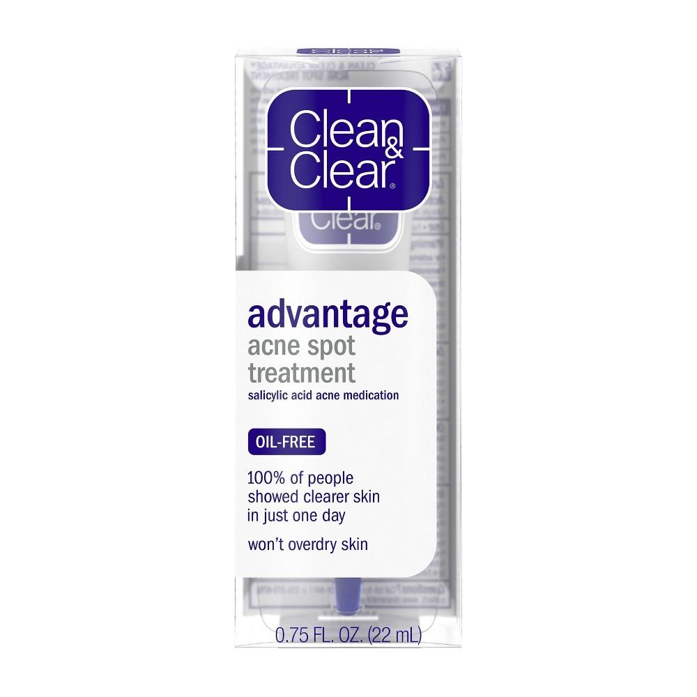 Image of Clean & Clear Advantage Spot Treatment with Witch Hazel - .75 fl oz