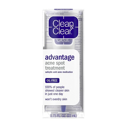 Clean Clear Advantage Spot Treatment With Witch Hazel 75 Fl