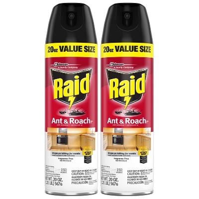 Raid Ant & Roach Killer - 20 oz/Twin Pack