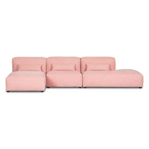 3pc Tourbino Right Armless Modular Sofas - Poly & Bark - image 1 of 3