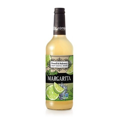 Powell & Mahoney Classic Margarita Cocktail Mixer - 750ml Bottle