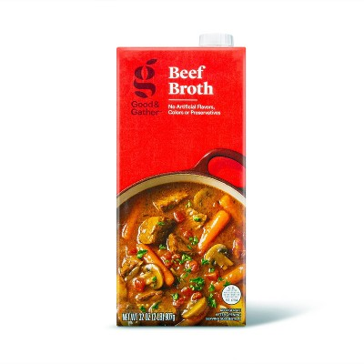 Beef Broth - 32oz - Good & Gather™