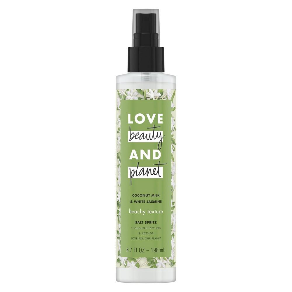 Image of Love Beauty & Planet Coconut Milk and White Jasmine Beachy Texture Salt Spritz Hair Spray - 6.7oz
