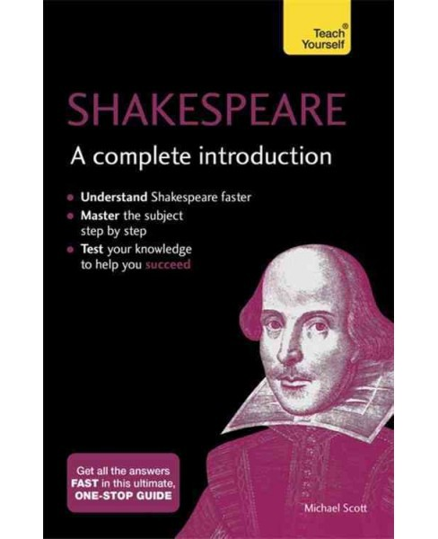 Shakespeare : A Complete Introduction (Paperback) (Michael Scott) - image 1 of 1