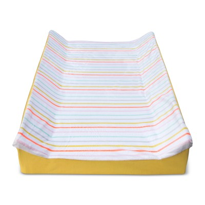 Changing Pad Cover Multi-Stripes -Cloud Island™ White