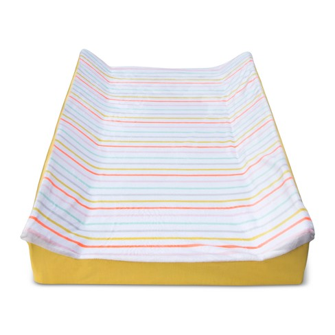Changing Pad Cover Multi-Stripes - Cloud Island™ White - image 1 of 2