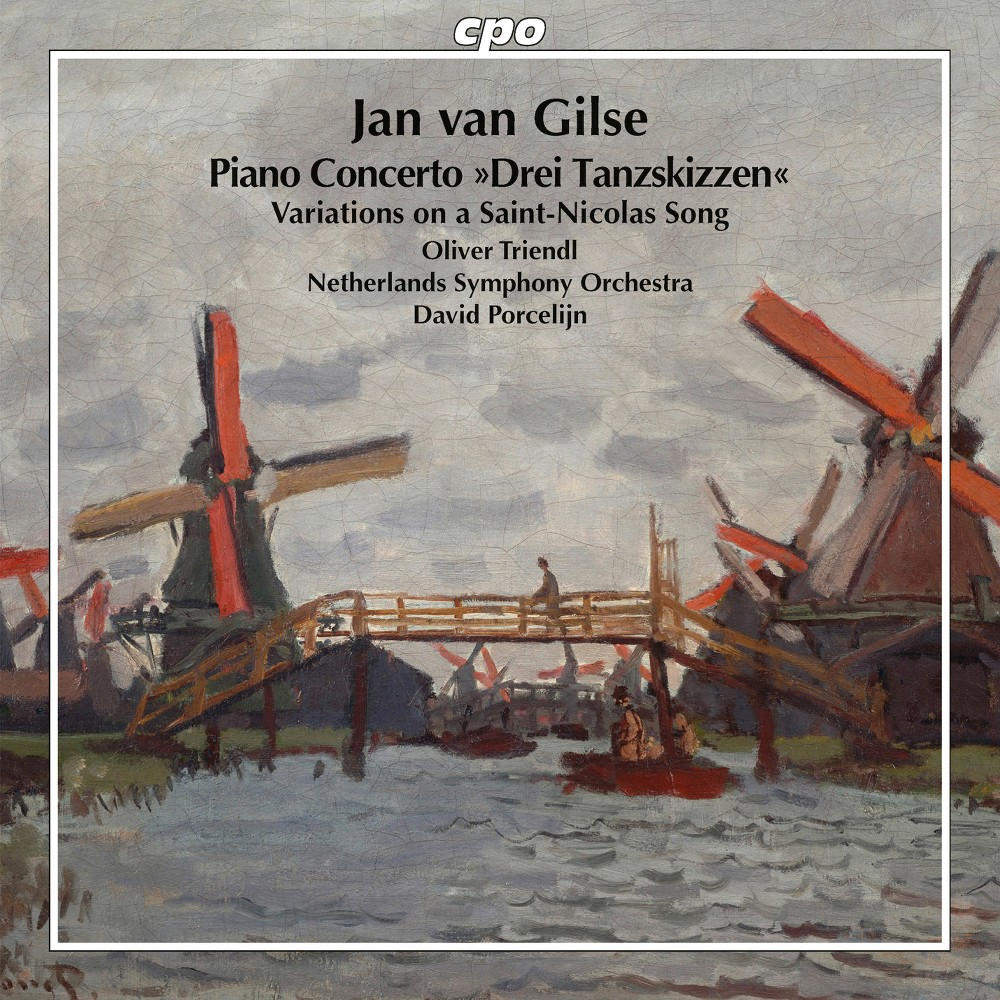Oliver Triendl - Van Gilse:Piano Cto & Variations On (CD)
