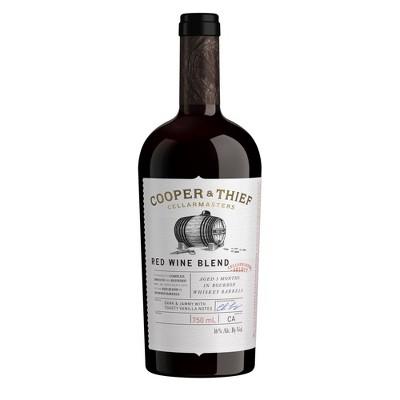 Cooper & Thief Bourbon Barrel-Aged Red Blend Wine - 750ml Bottle
