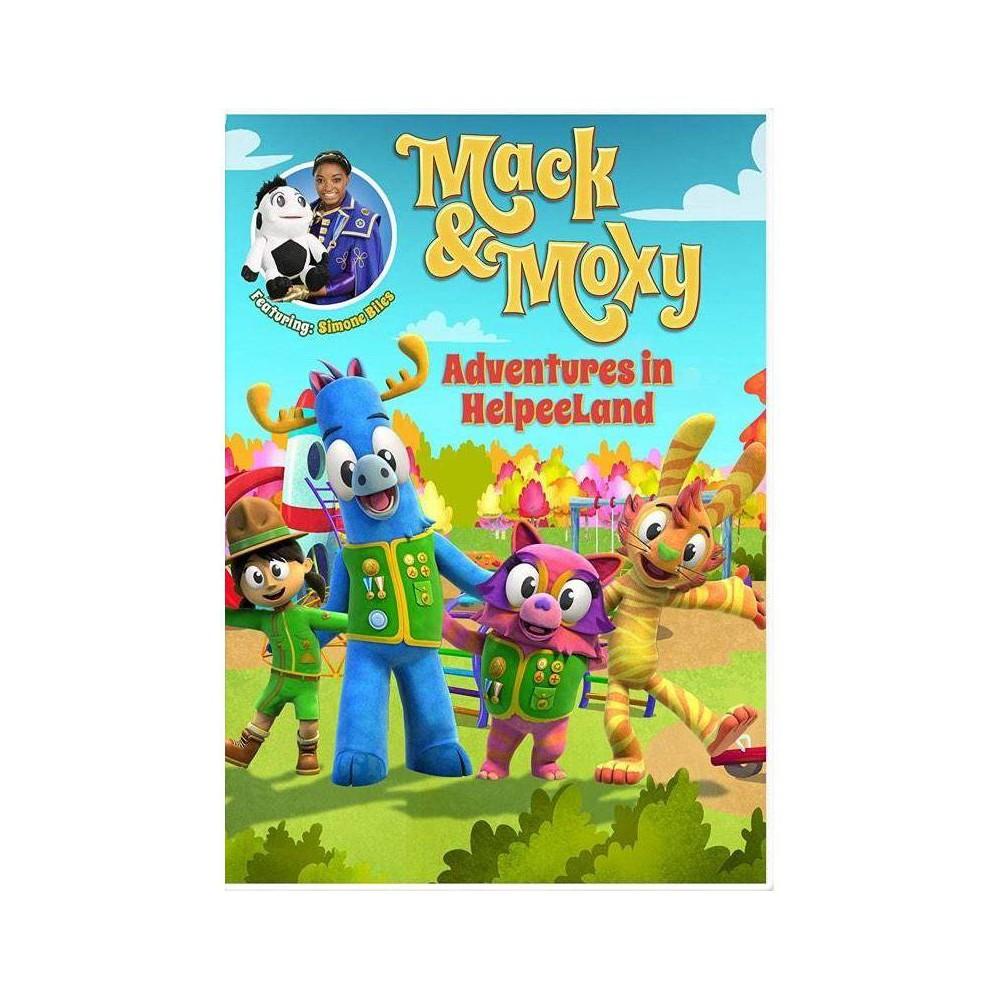 Mack Moxy Adventures In Helpeeland Dvd 2016
