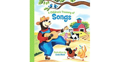 Children's Treasury of Songs (Reprint) (Paperback) - image 1 of 1