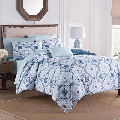 Ankara Comforter Set Blue - Martex