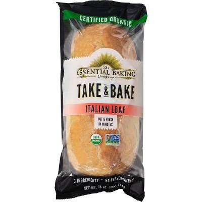 The Essential Baking Company Take & Bake Italian Bread - 16oz