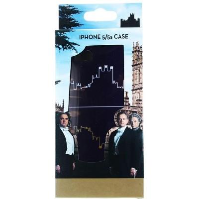 Se7en20 Downton Abbey Purple Abbey Silhouette iPhone 5/5s Hard Snap Case