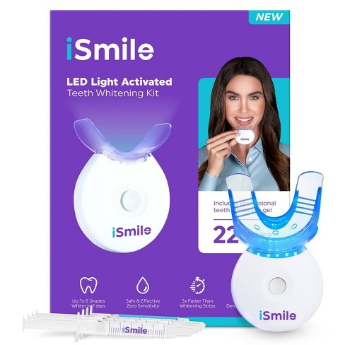 Ismile Led Teeth Whitening Kit White Target