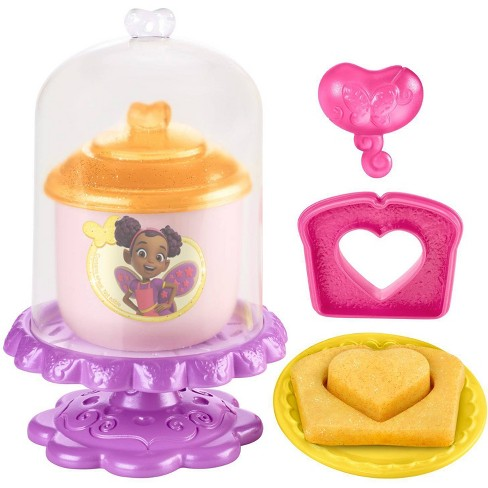 Fisher-Price Butterbeans Cafe Create And Display Fairy Dough - Yellow - image 1 of 3