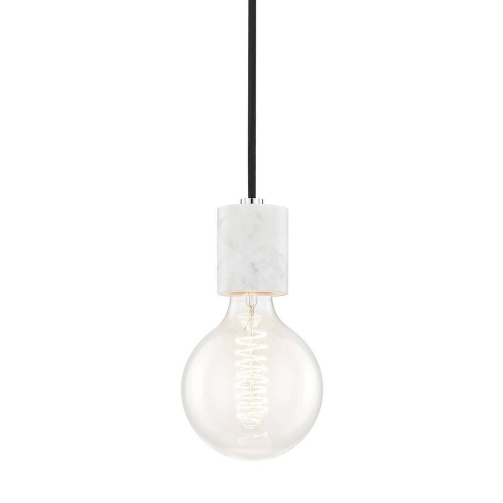 Asime 1-Light Pendant Chandelier Brushed Nickel - Mitzi by Hudson Valley Top