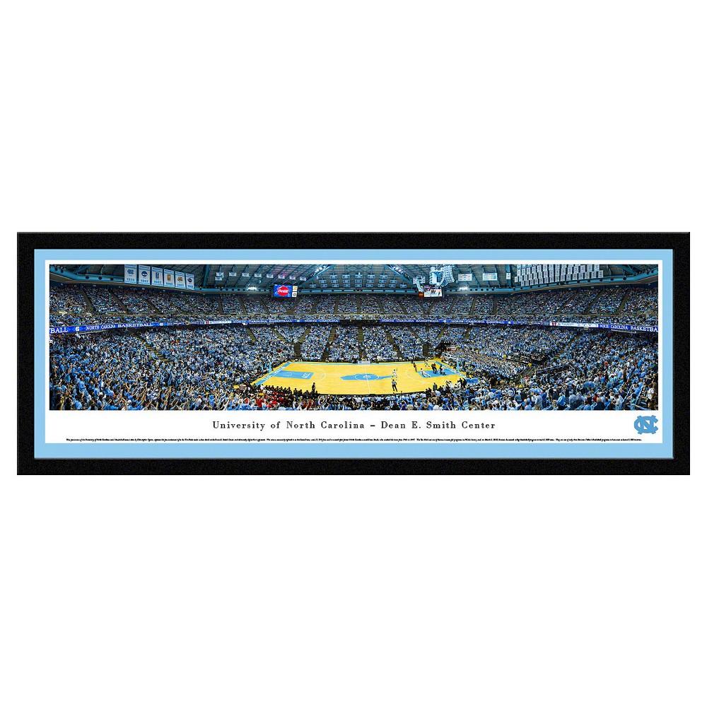 NCAANorth Carolina Tar Heels BlakewayBasketball Arena View Framed Wall Art, North Carolina Tar Heels