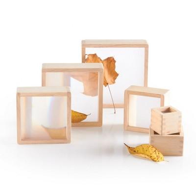 Guidecraft Magnification Stacking Blocks