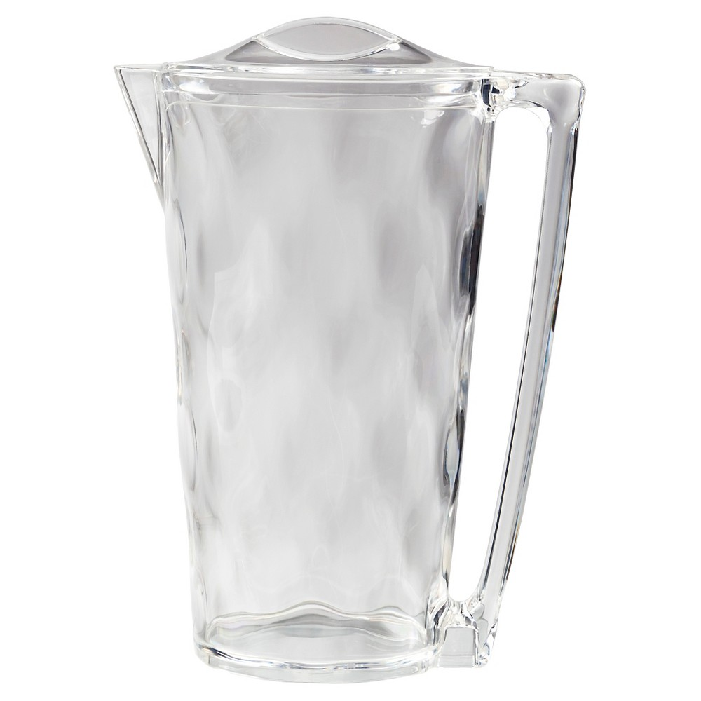 CreativeWare Ice Blocks Collection 2qt Acrylic Pitcher, Clear