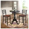 Salem Round Pedestal Bar Table - image 2 of 2