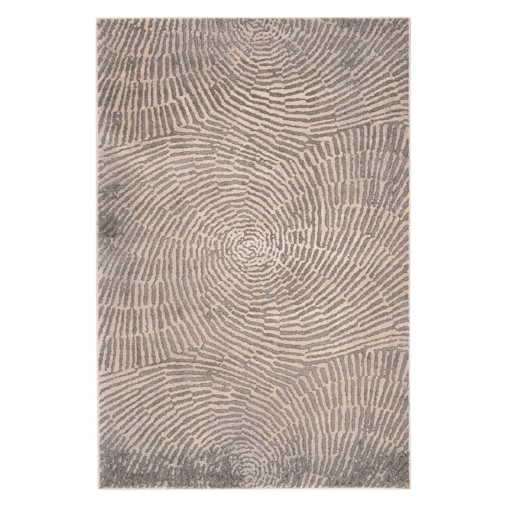 33X5 Shapes Accent Rug Taupe - Safavieh Cheap