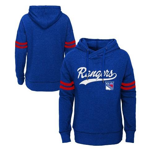 finest selection 4a5c9 e47b4 NHL New York Rangers Girls' OT Fleece Hoodie
