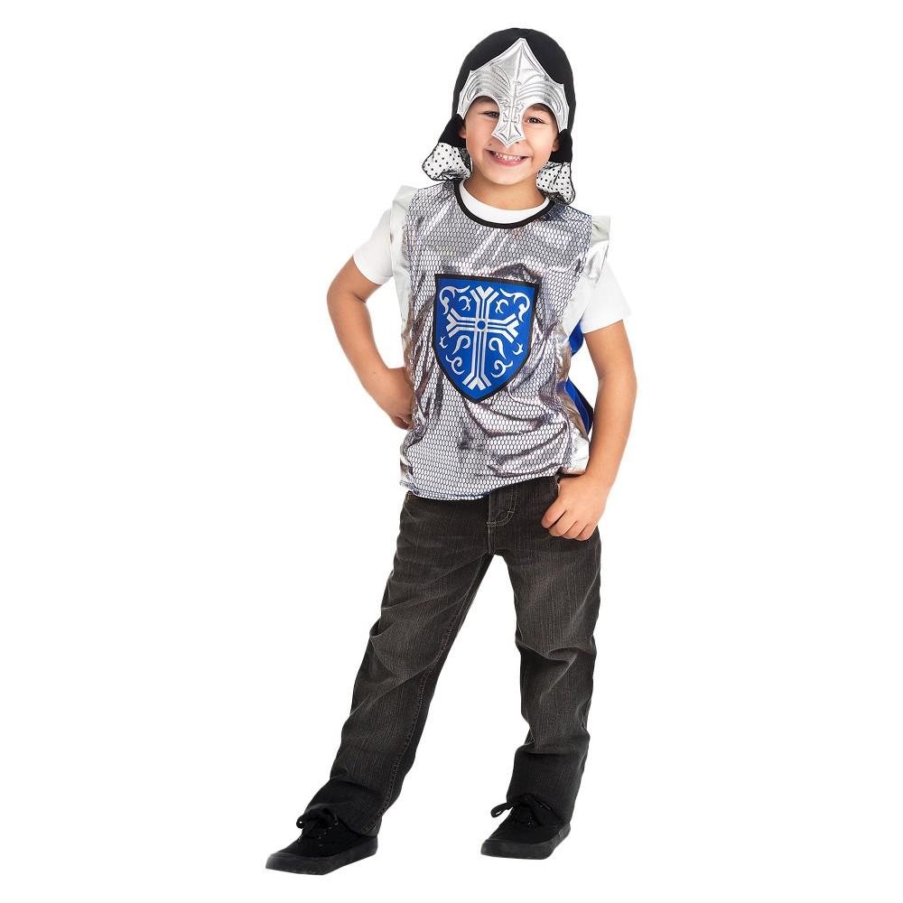 Little Adventures Crusader Vest and Silver Helmet Set, Boy's